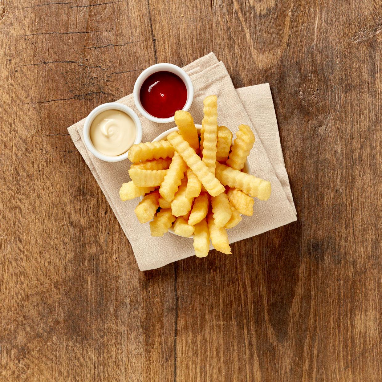 Tifa Quality Pommes Wellenschnitt 2500 g