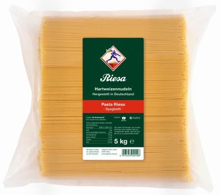 Pasta Riesa Spaghetti 5000 g