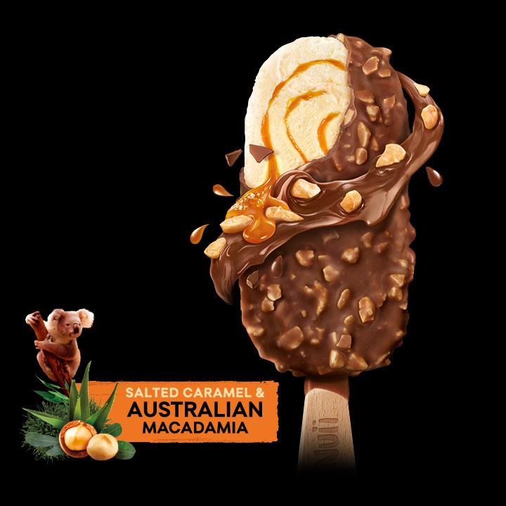 NUII Nuii Salted Caramel & Australian Macadamia Eis 90 ml