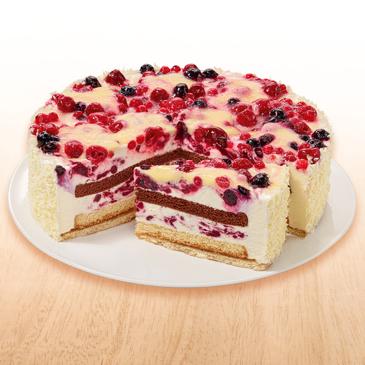 NESTLE SCHOELLER Backwaren Rote Grütze Vanille Torte 2700 g