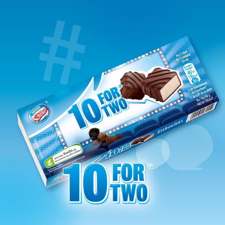 NESTLE SCHOELLER 10 For Two Eis (10 Stk) 100 ml
