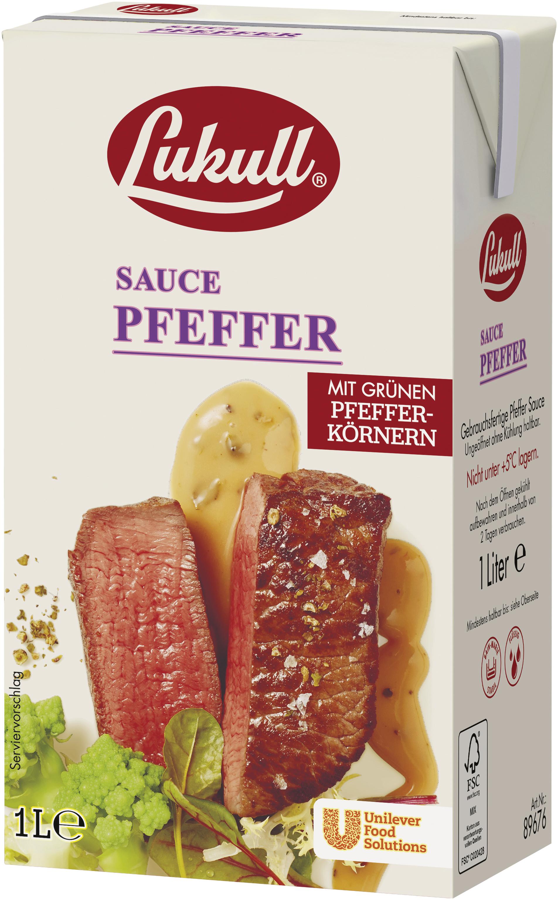 Lukull Pfeffer Sauce 1000 ml