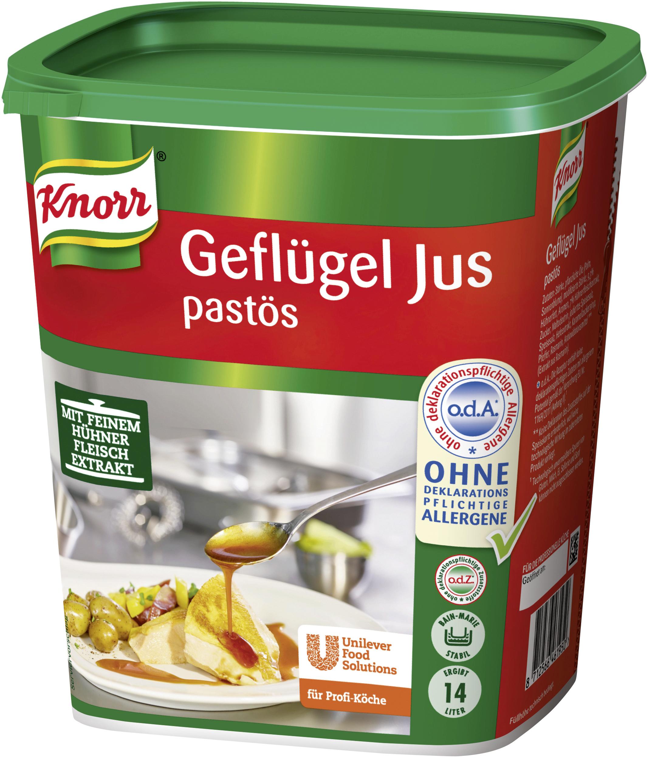 Knorr Geflügeljus pastös, 6 x 1,3 kg