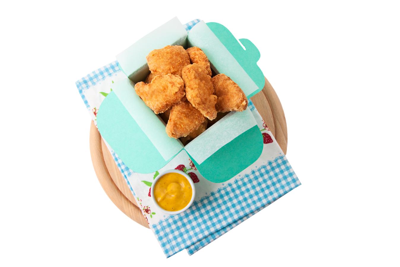 APOLLO Hähnchen-Form-Nuggets im Backteig 2500 g