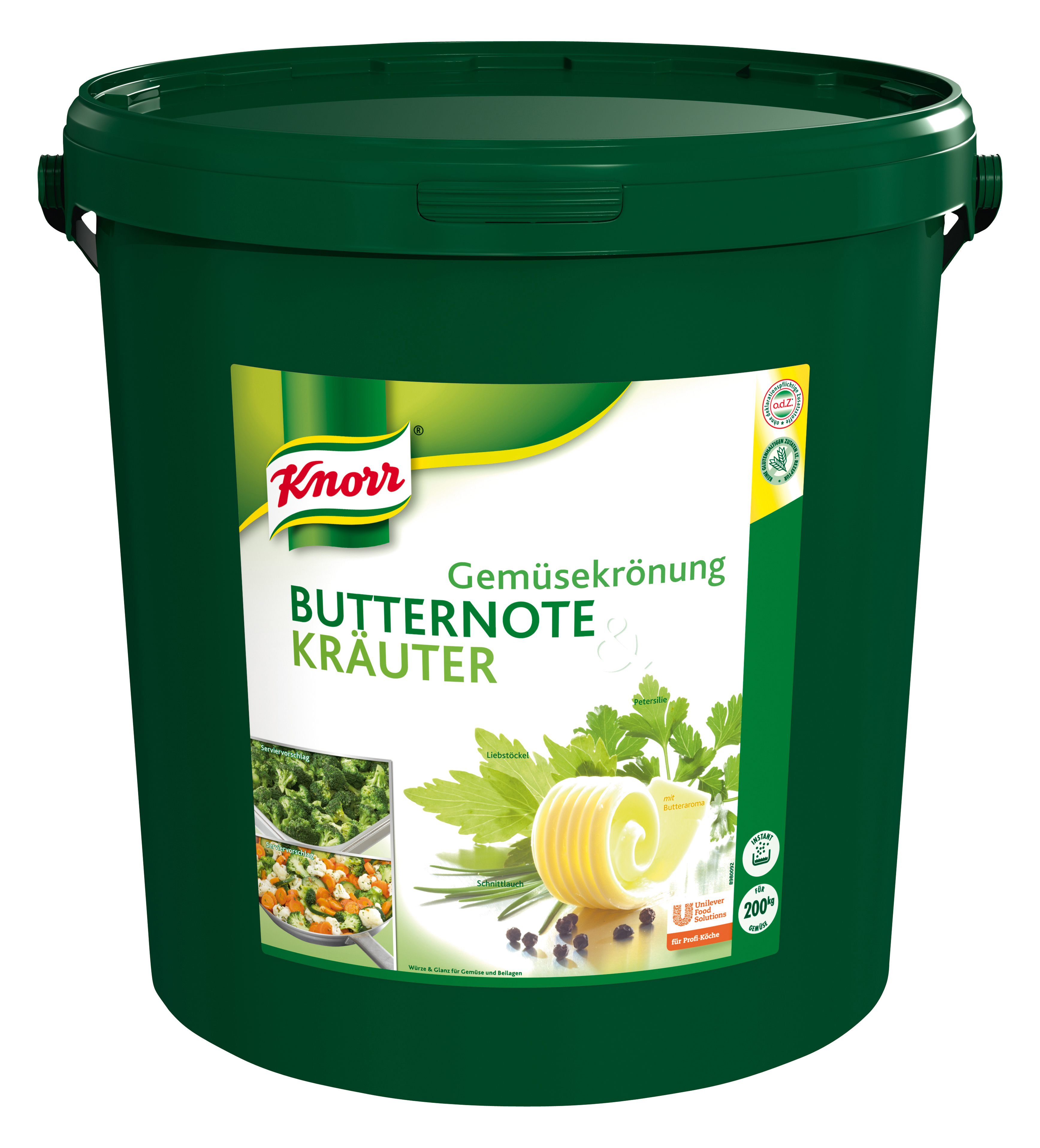 Knorr Gemüsekrönung Butter/Kräuter 10 kg