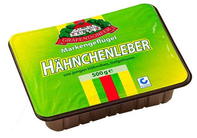 Gräfendorfer Hähnchen Leber 500 g