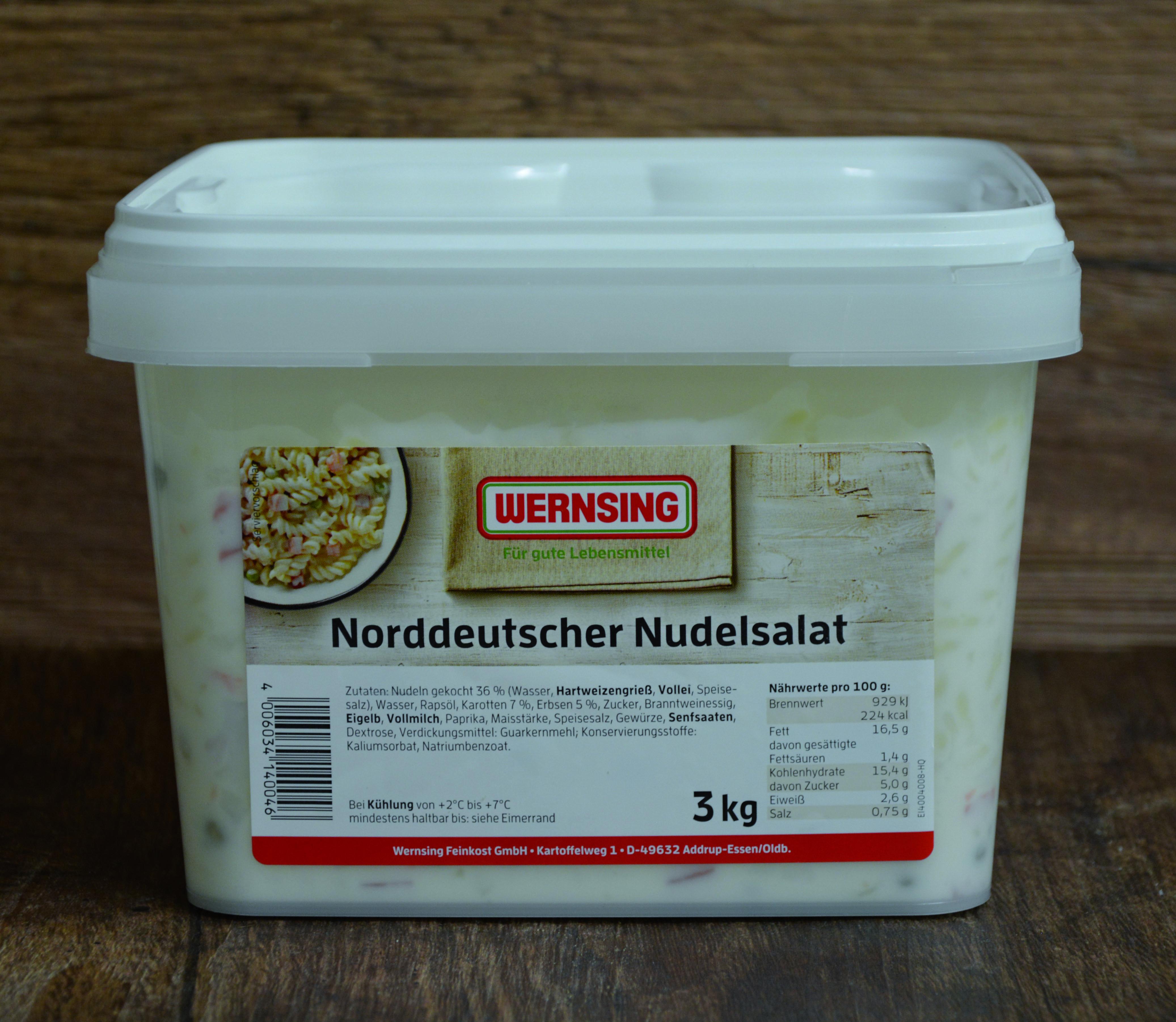 Wernsing Nudelsalat Norddeutscher Art 3000 g