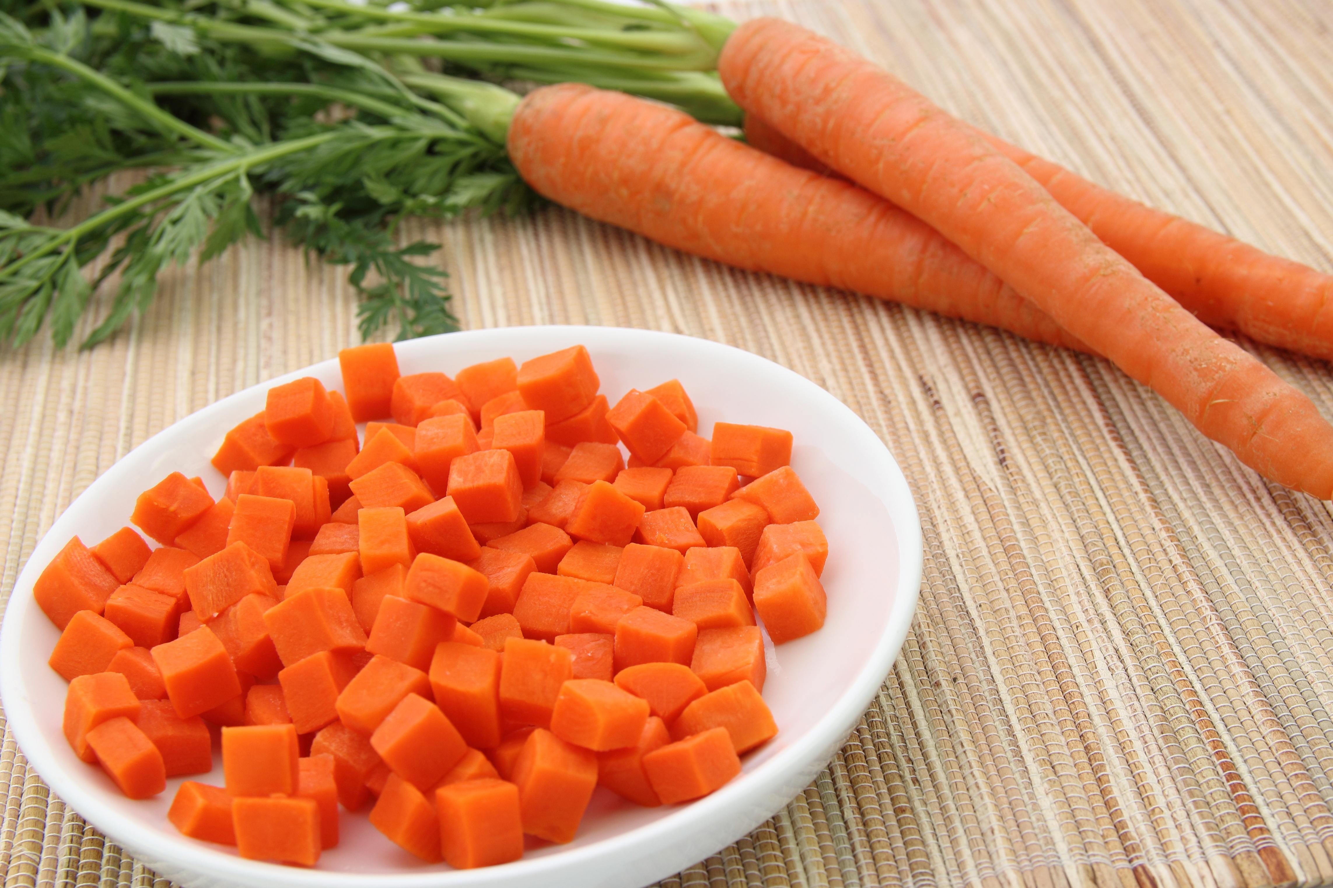 Melzer Karotten gewürfelt 10 kg