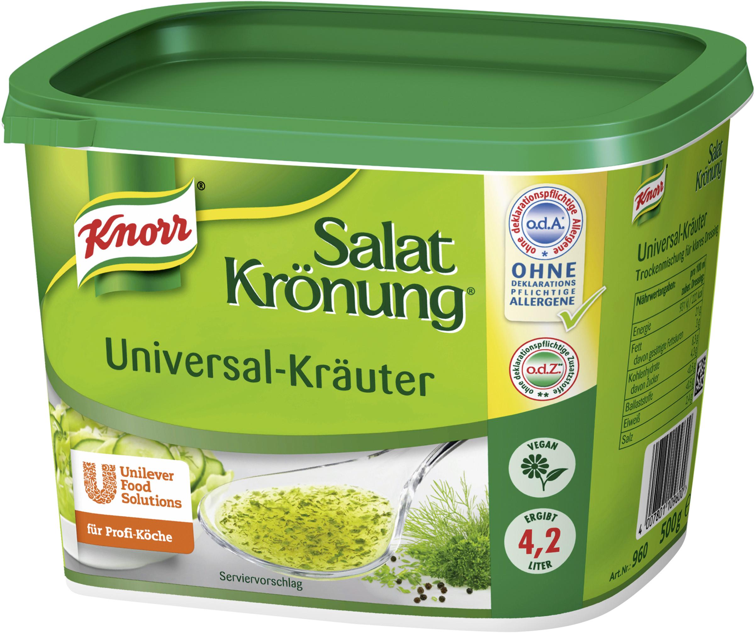 Knorr Salatkrönung Universal-Kräuter 500 g