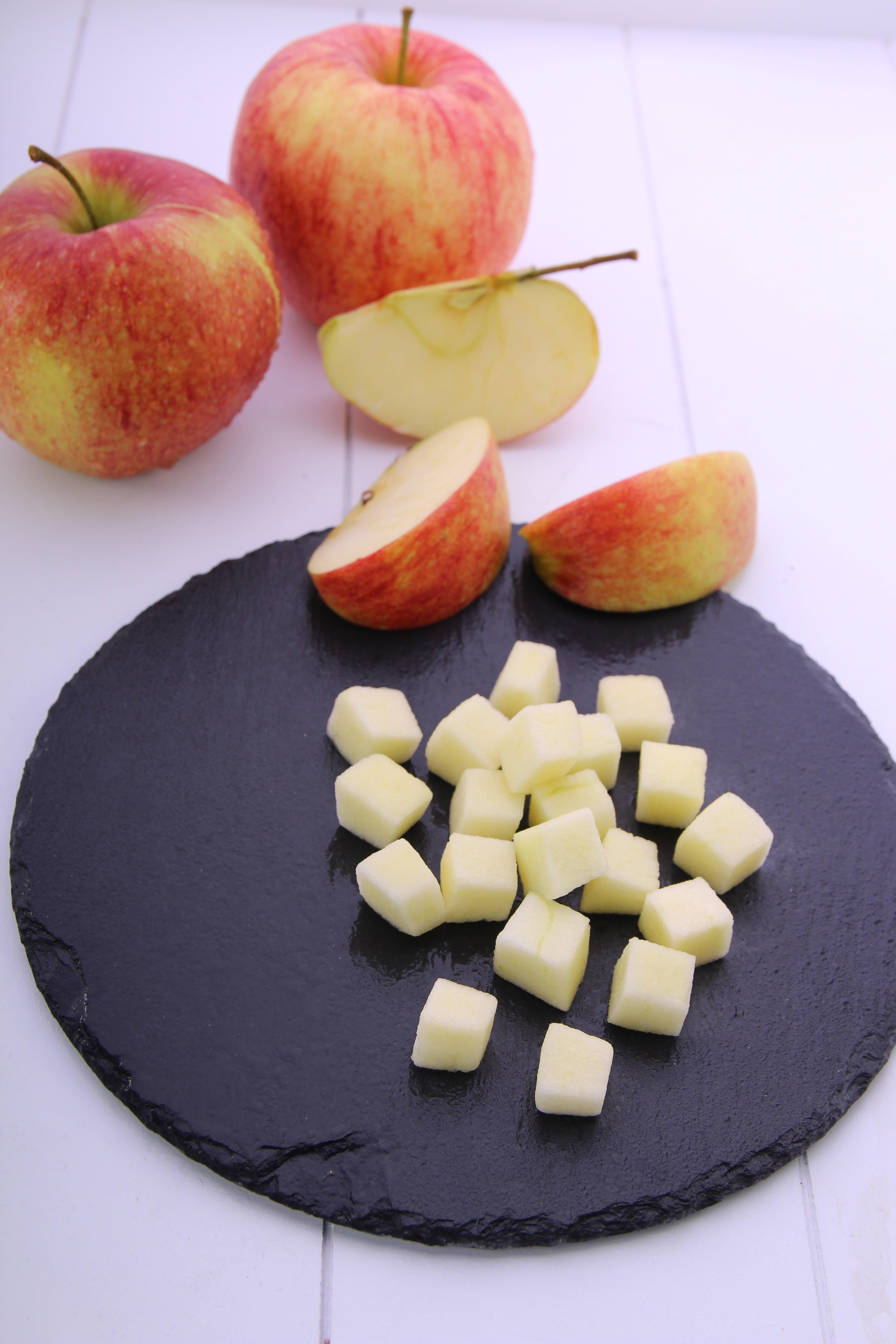 Melzer Apfelwürfel 10x10mm 10 kg