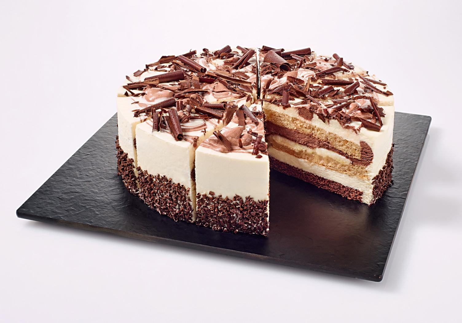 NESTLE SCHOELLER UNSERE PRACHTSTÜCKE CLASSICS Marzipan-Torte vorgeschnitten 1900 g