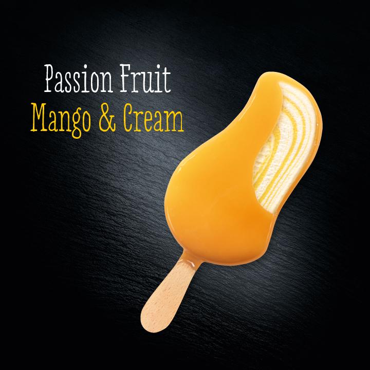 MOEVENPICK Passion Fruit Mango & Cream Eis 90 ml