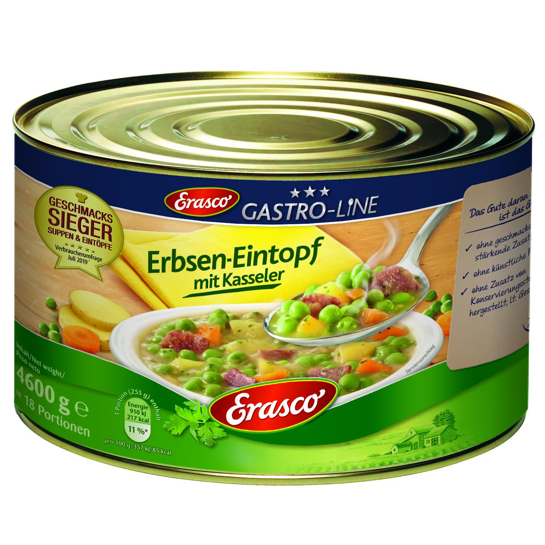 Erasco Erbseneintopf mit Schweinefleisch 4600 g