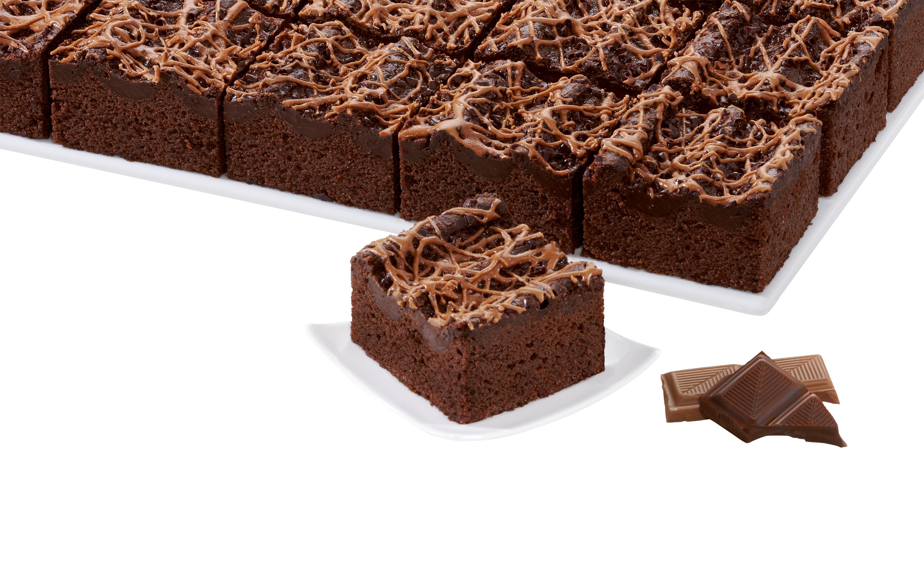 erlenbacher Double Chocolate-Schnitte 1000 g