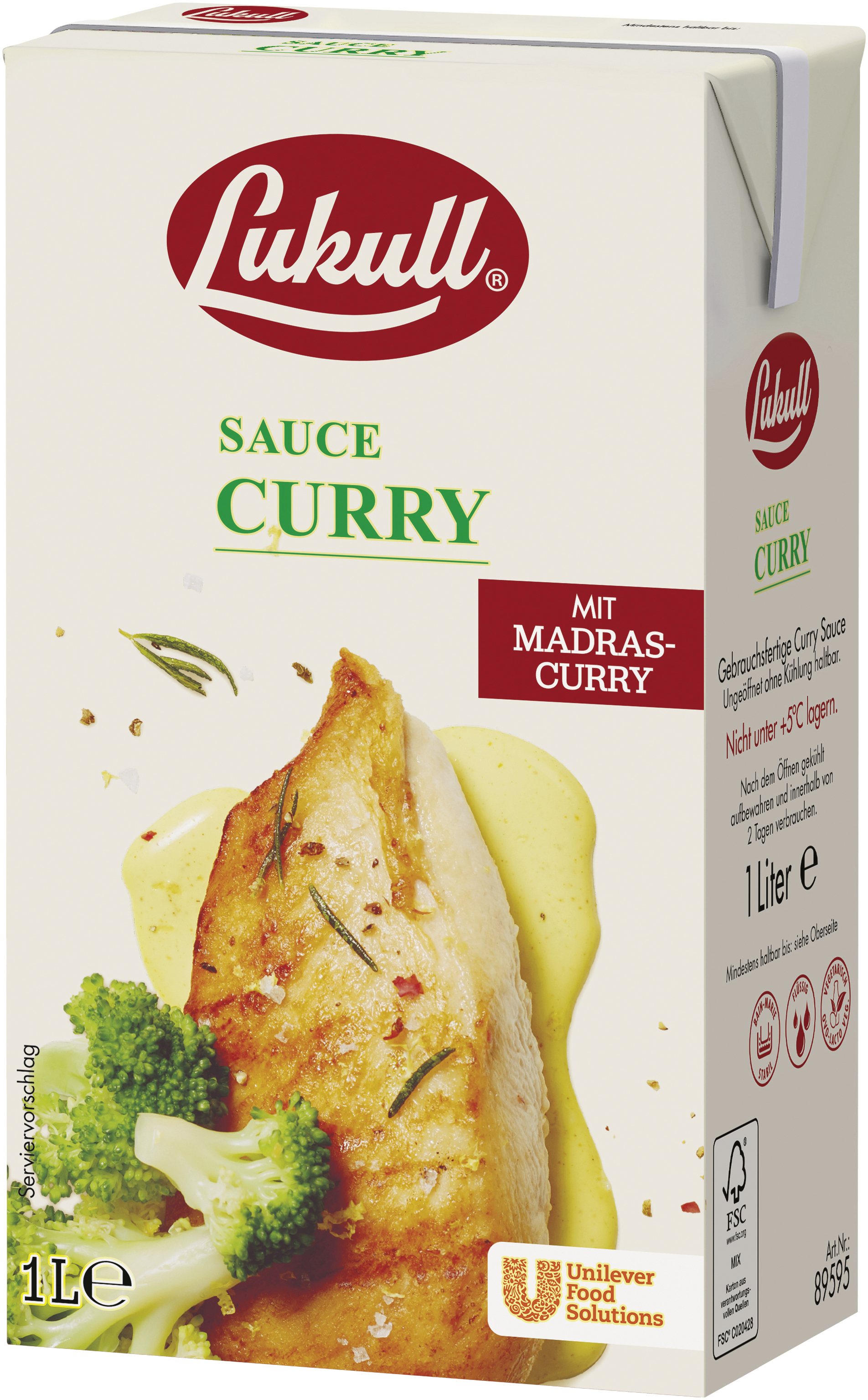 Lukull Curry Sauce 1000 ml