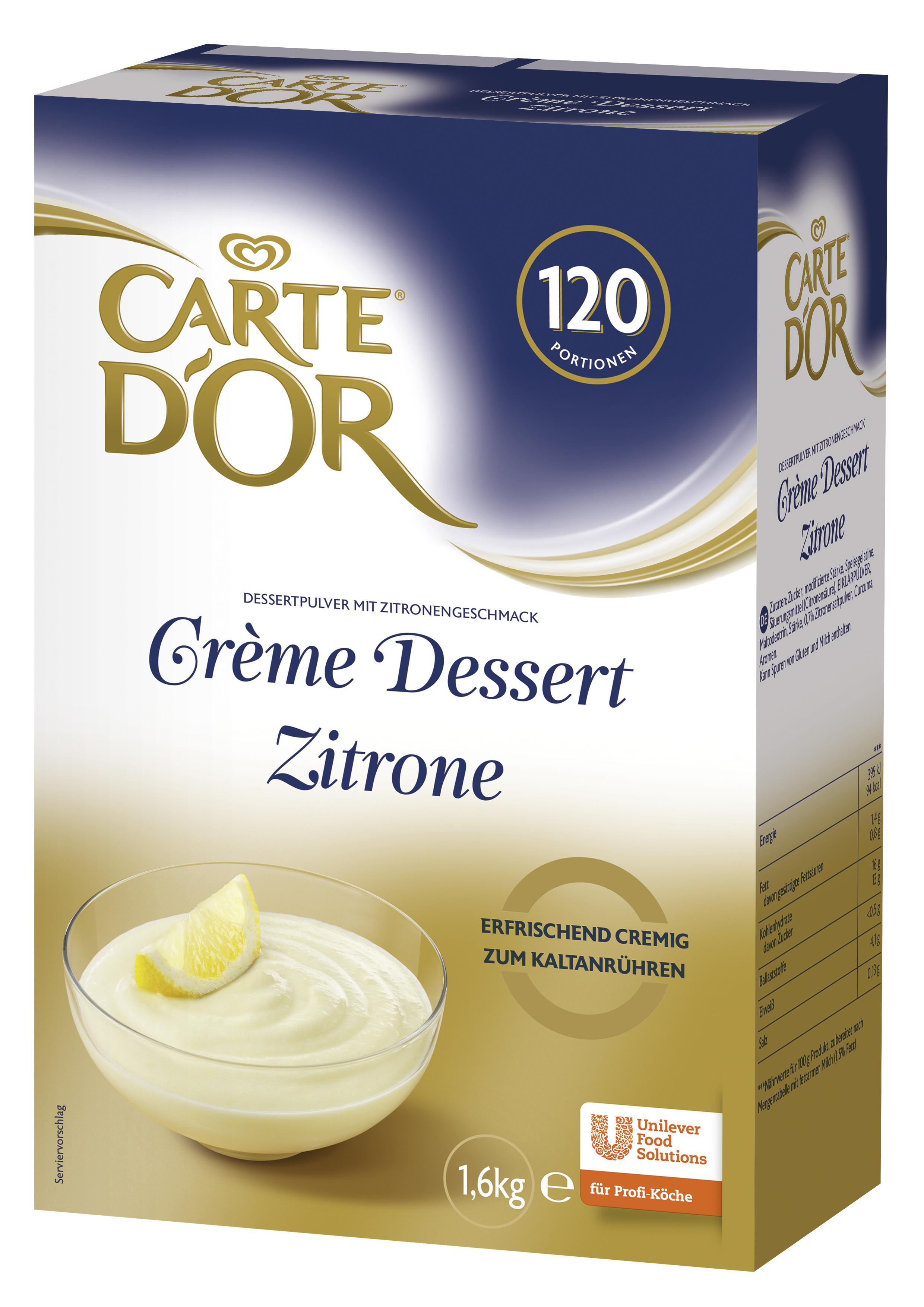 Carte D'or Majala Zitrone 1600 g