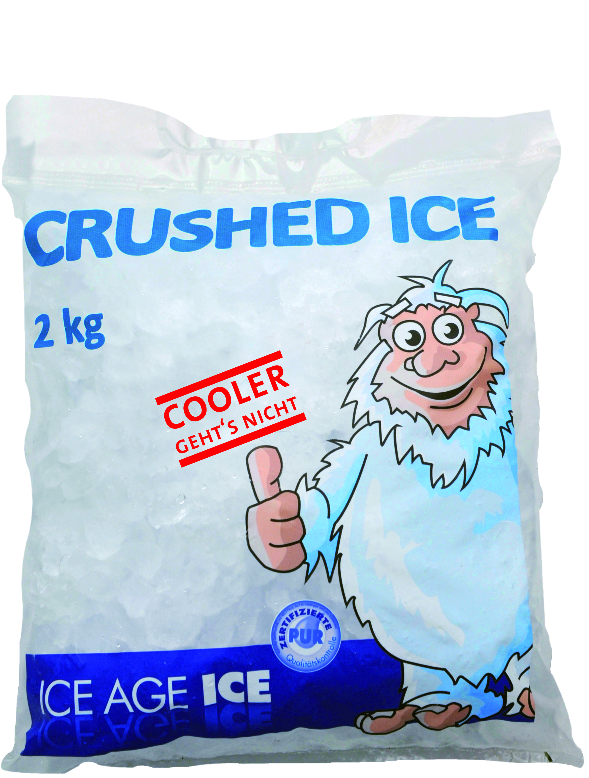 ICE AGE ICE Crushed Eis 2000 g