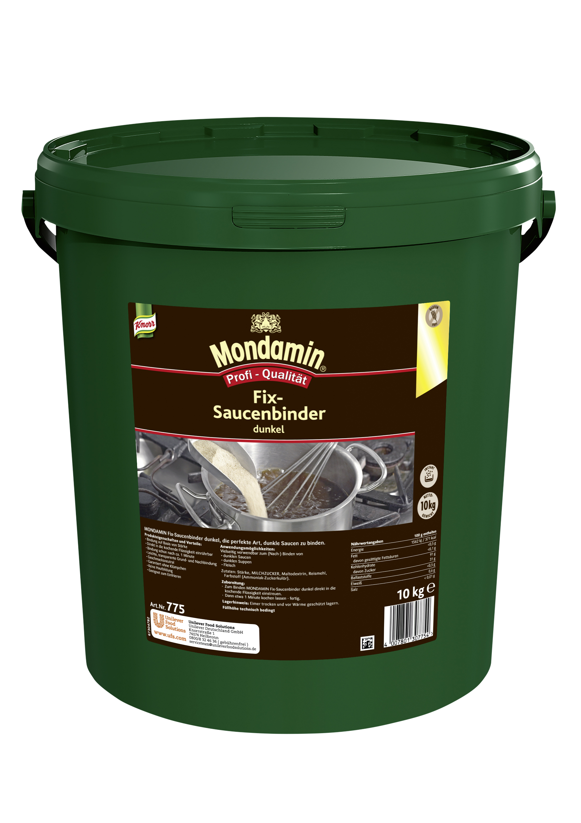 MONDAMIN Fix Saucenbinder dunkel 10 kg