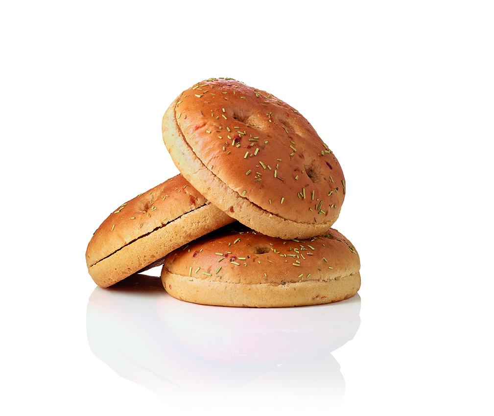 SALOMON FoodWorld Focaccia Burger Bun 80 g