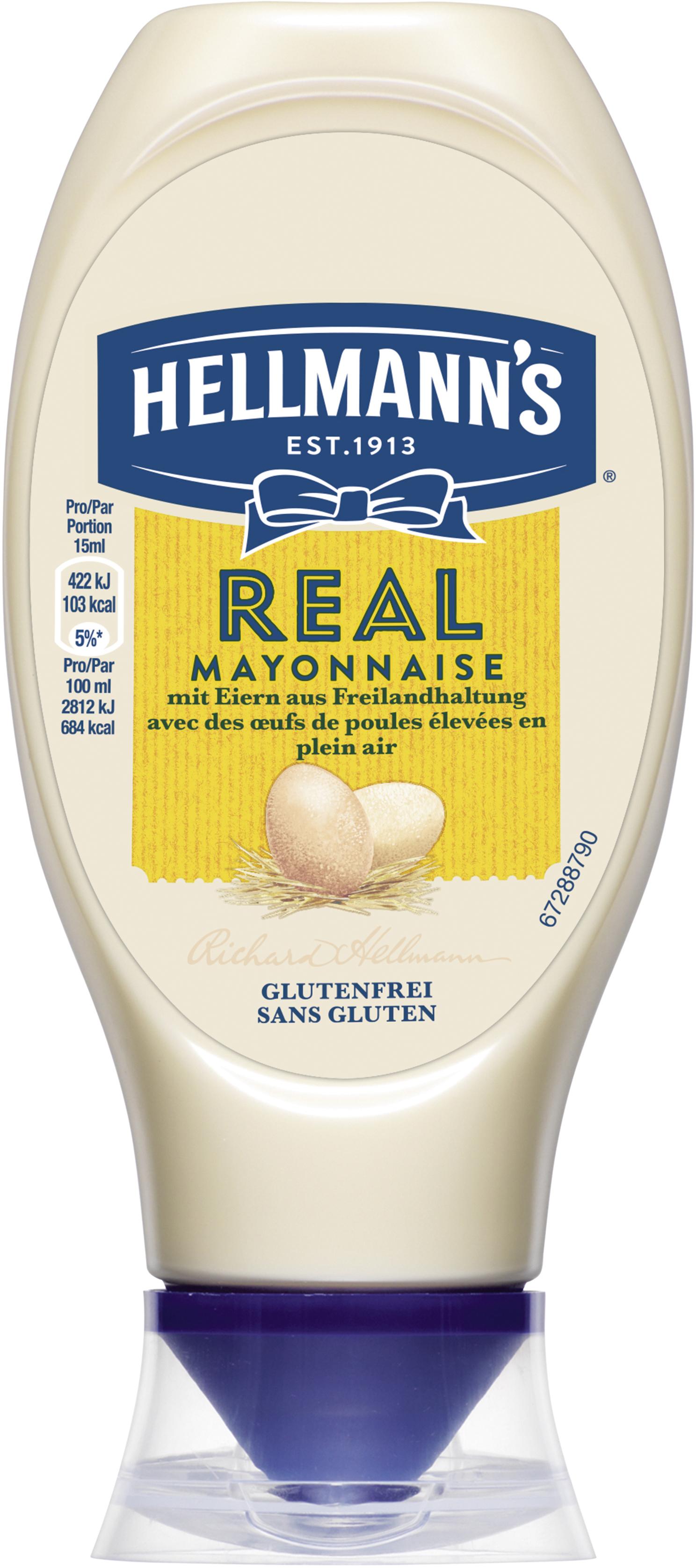 Hellmann's REAL Mayonnaise 80% Fett 430 ml