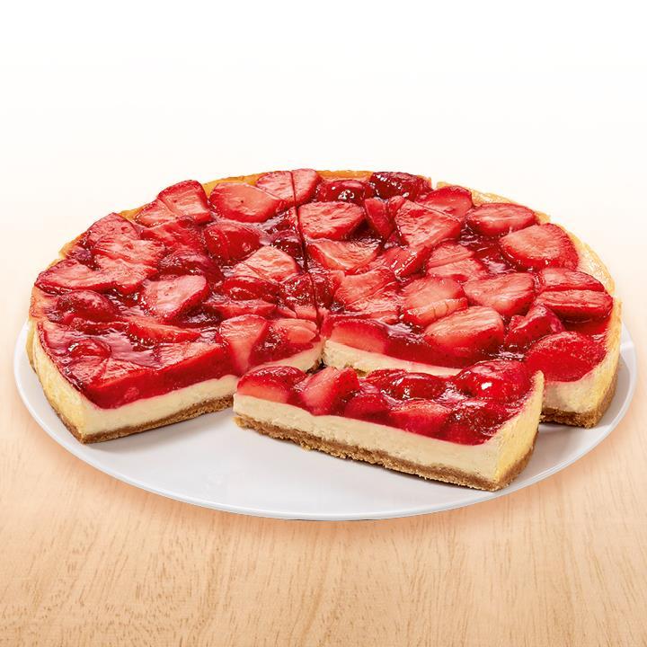 NESTLE SCHOELLER Backwaren Strawberry Cheesecake vorgeschnitten 1500 g