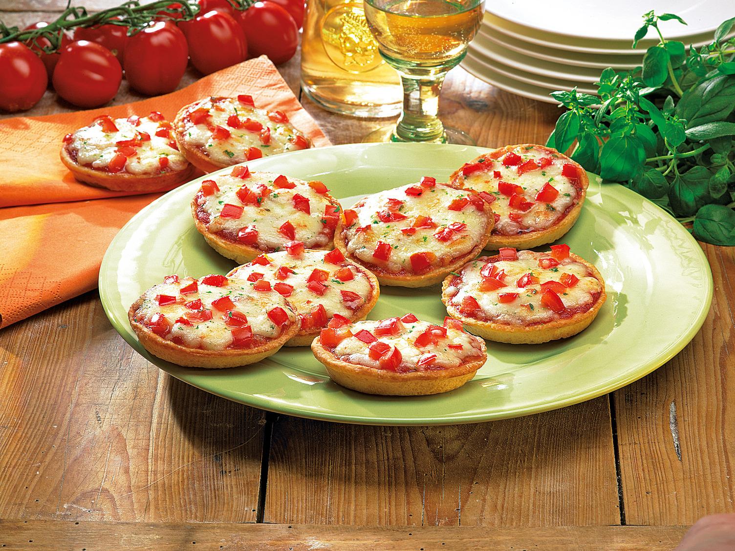 NESTLE SCHOELLER Original WAGNER Mini-Pizza Tomate-Mozzarella ca. 30 g