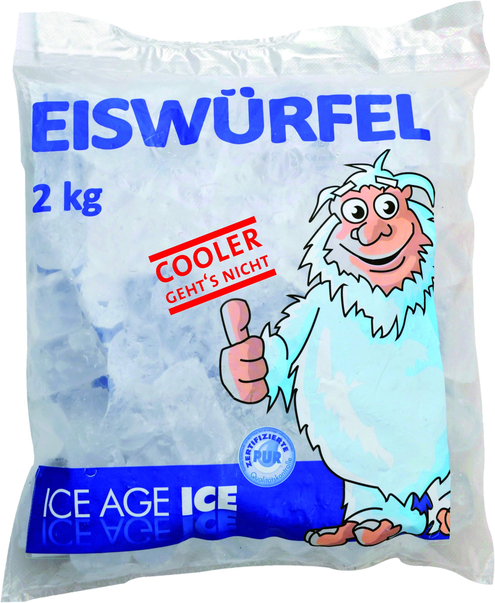 ICE AGE ICE Eis Würfel 2000 g