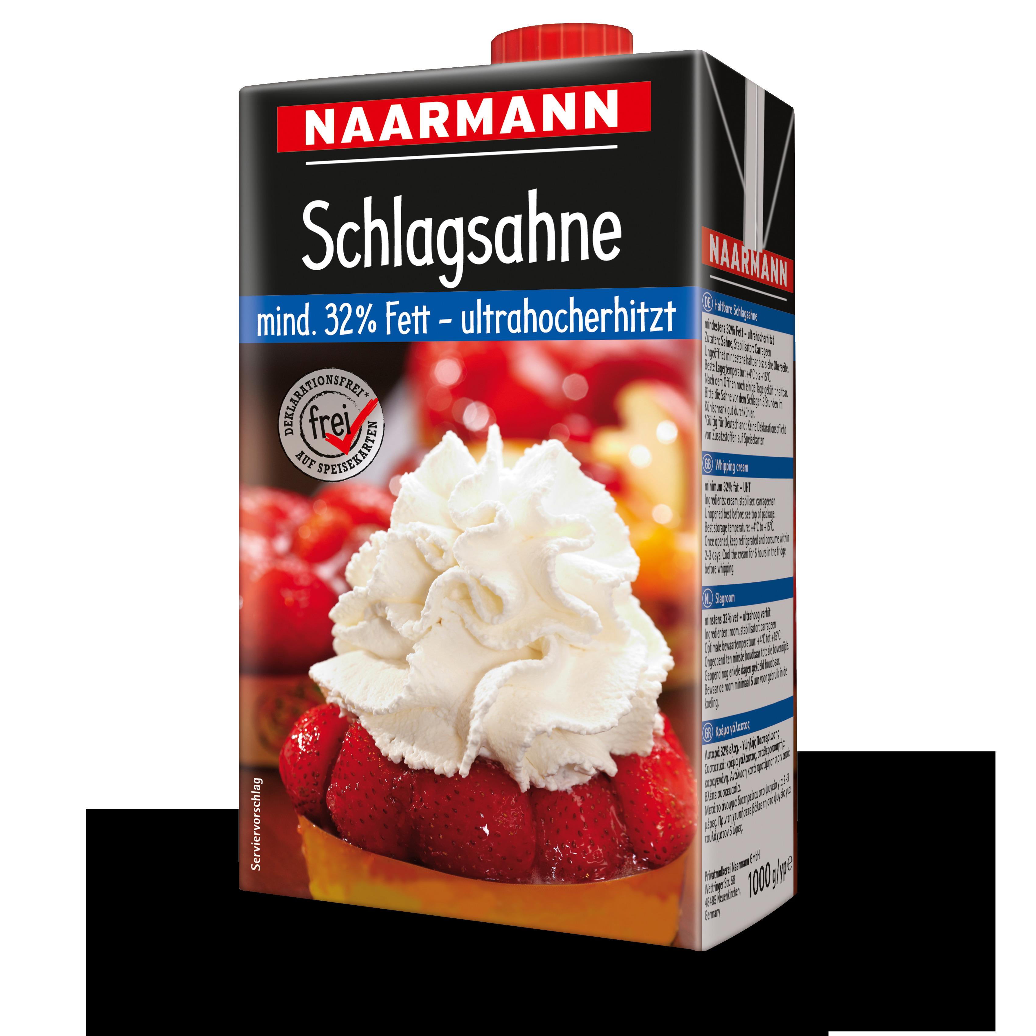 Naarmann H-Sahne 32 % Fett 1000 g