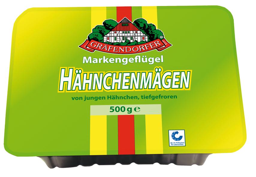 Gräfendorfer Hähnchenmägen 500 g