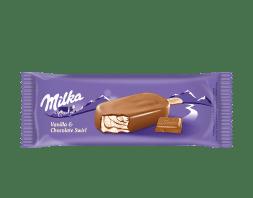MONDELEZ Milka Vanilla & Chocolate Swirl Eis 100 ml