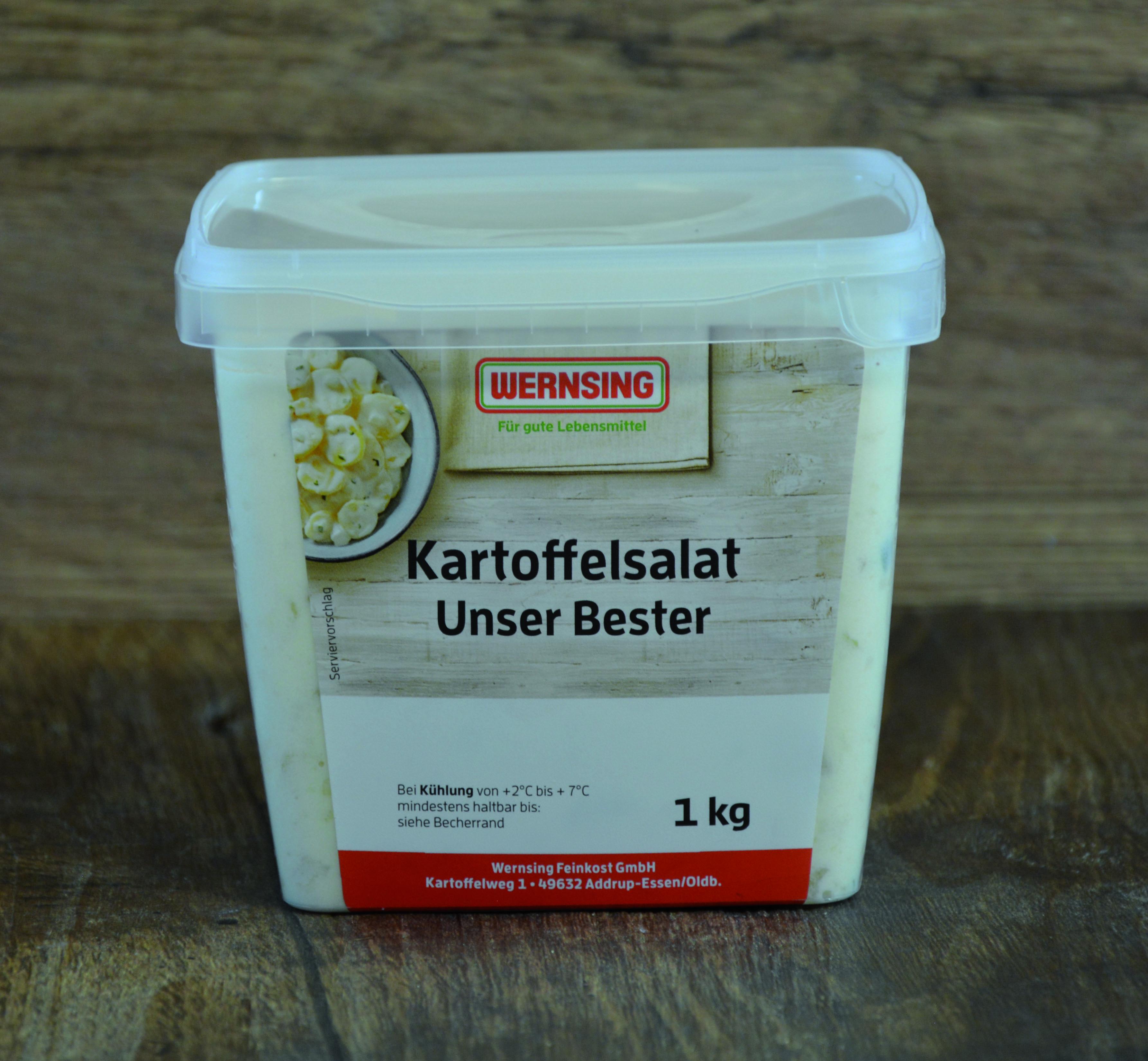 Wernsing Kartoffelsalat Unser Bester 1000 g