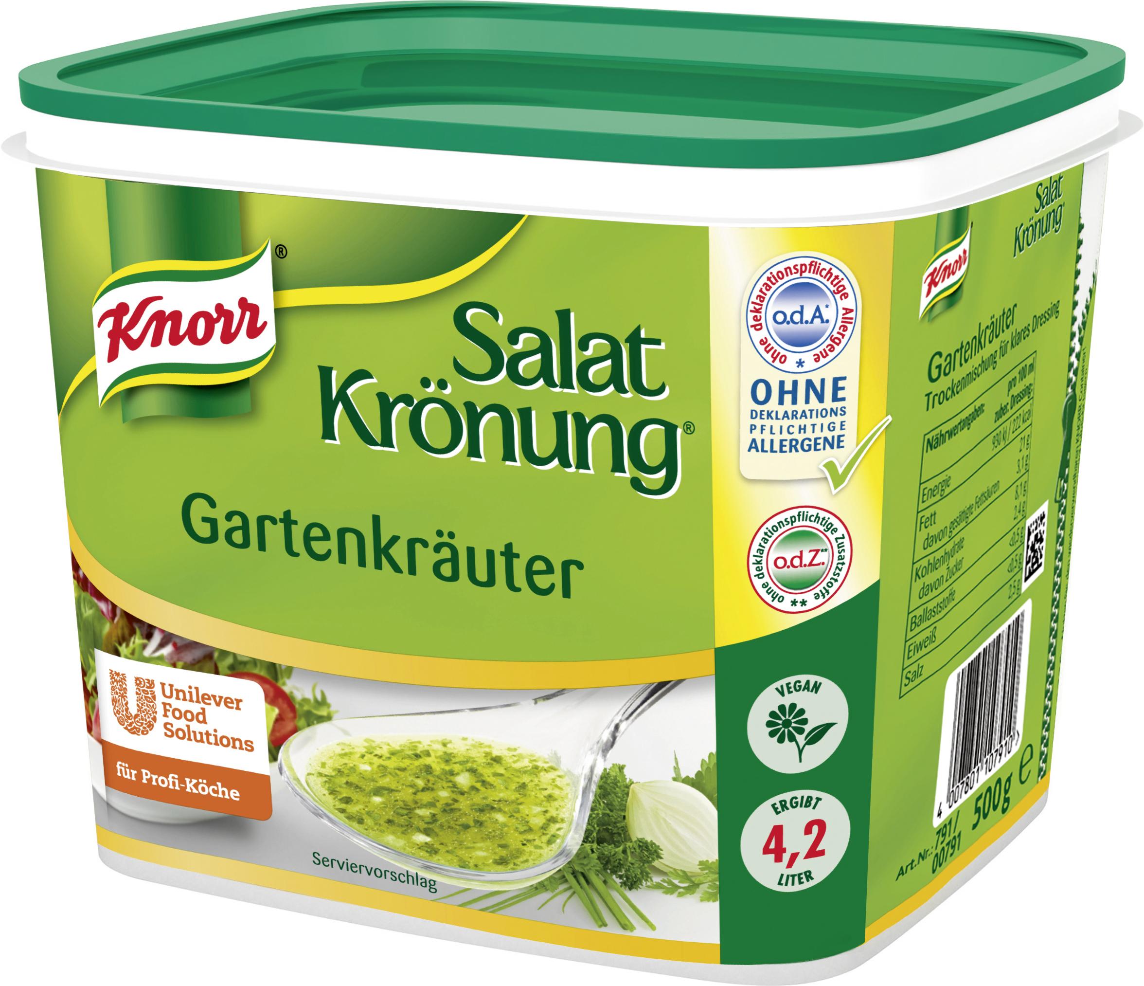 Knorr Gartenkräuter 500 g