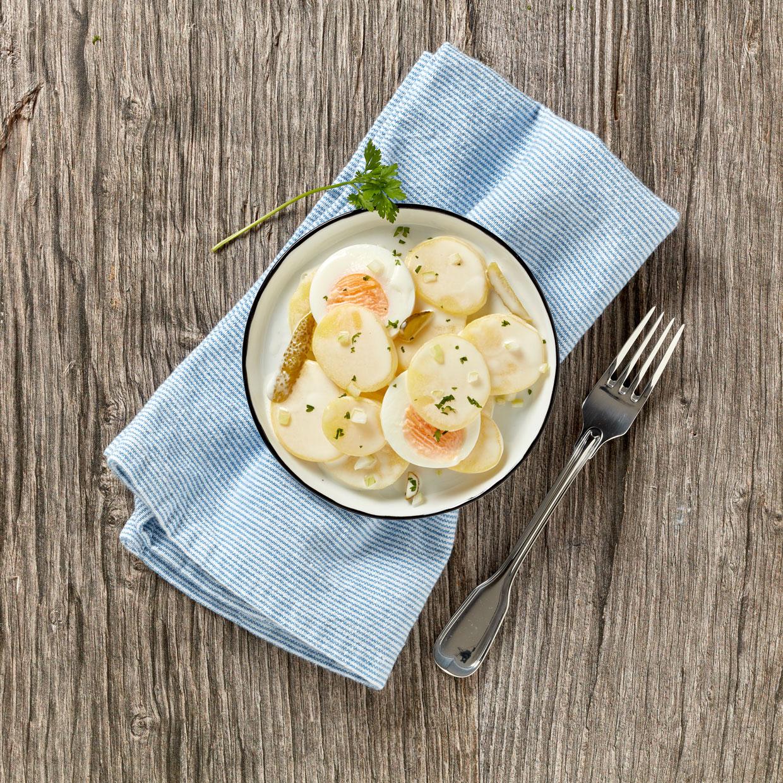 Wernsing Rheinischer Kartoffelsalat mit Ei 5000 g