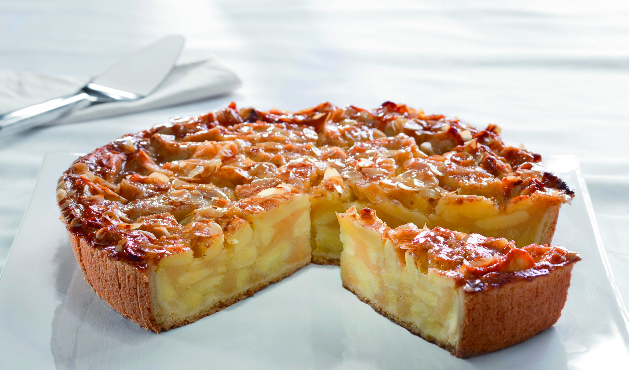 Pfalzgraf Gourmet Apfeltorte lactosefrei vorgeschnitten 2250 g